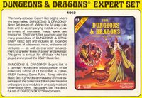 RPG Item: Dungeons & Dragons Expert Set
