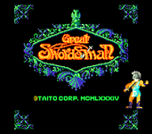 Video Game: Great Swordsman