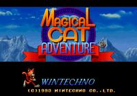 Video Game: Magical Cat Adventure