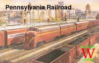 Board Game: Pennsylvania Railroad
