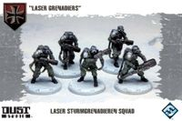 "Board Game: Dust Tactics: Laser Sturmgrenadiere Squad – ""Laser Grenadiers"""