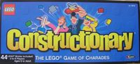 Board Game: LEGO Constructionary Game