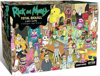 Board Game: Rick and Morty: Total Rickall Card Game