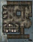 RPG Item: GameMastery Flip-Mat: Waterfront Tavern