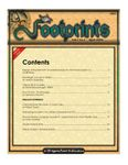 Issue: Footprints (Issue 1 - Apr 2004)