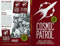 RPG Item: Cosmic Patrol Quick-Start Rules: The Doomsday Protocols
