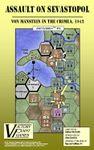 Board Game: Assault on Sevastopol: Von Manstein in the Crimea, 1942