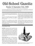 Issue: Old-School Gazette (Issue 4 - Sep 2006)
