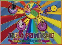 Board Game: Duelo Primigenio: The Rainbow Shoushiling Cards Project