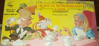 Board Game: Alice in Wonderland Game