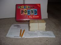 Board Game: Trivia By The Pound