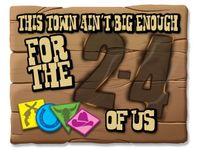 Board Game: This Town Ain't Big Enough for the 2-4 of Us