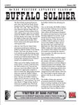 RPG Item: Buffalo Soldier