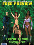 RPG Item: Hot Chicks RPG Free Preview: Terror of the Greygore!