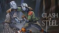 Board Game: Clash of Steel: A Tactical Card Game of Medieval Duels