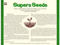 RPG Item: Seeds: Supers