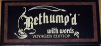 Board Game: Bethump'd with Words: Voyager Edition