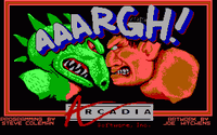 Video Game: Aaargh!