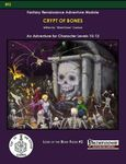 RPG Item: Lord of the Bone Fields #2: Crypt of Bones (Pathfinder)