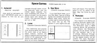 Video Game Compilation: Space Games-4, CS-8003