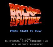 Video Game: Back to the Future (1989)