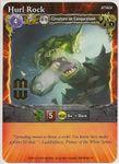 Board Game: Mage Wars: Hurl Rock Promo Card
