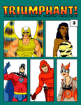 RPG Item: Triumphant! Public Domain Super Heroes #3