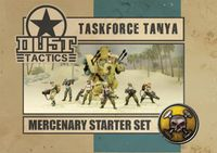 Board Game: Dust Tactics: Taskforce Tanya
