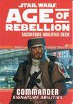 RPG Item: Age of Rebellion Signature Abilities Deck: Commander