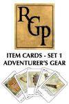 RPG Item: Item Cards Set 1: Adventurer's Gear