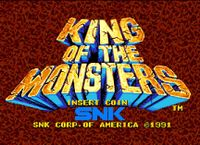 Video Game: King of the Monsters