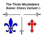 Board Game: Three Musketeers Game: Chess Variant