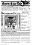 Issue: Aventurischer Bote (Issue 78 - May/Apr 1999)