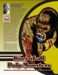 RPG Item: King of All Pulp Monsters