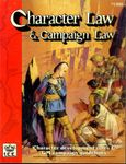 RPG Item: Character Law & Campaign Law (2nd Edition, Revised)
