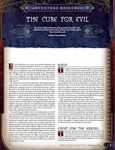 RPG Item: The Cure for Evil