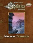 RPG Item: Shaintar Guidebook: Malakar Dominion