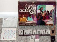 Board Game: Scrabble Duplicate Crossword Game