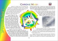 RPG Item: Colours of Magic: Chrome Magic (D20)