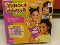 Board Game: Yahoo! Web Speak