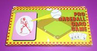 "Board Game: ""Pro"" Baseball Card Game"