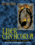 RPG Item: Liber Canticorum (The Book of Songs)
