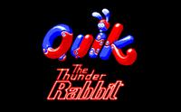 Video Game: Quik the Thunder Rabbit