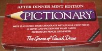 Board Game: Pictionary: After Dinner Mint Edition
