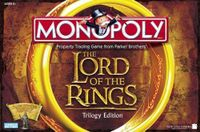 Board Game: Monopoly: The Lord of the Rings Trilogy Edition