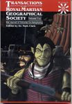 RPG Item: Transactions of the Royal Martian Geographical Society - Volume Two