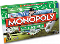 Board Game: Monopoly: Golf Schweiz