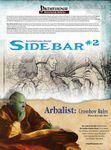 RPG Item: Sidebar #02: Arbalist: Crossbow Rules