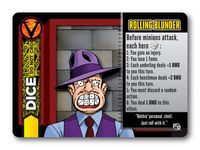 Board Game: Heroes Wanted: Dice Promo Card