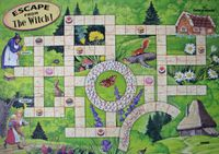 Board Game: Escape from the Witch!